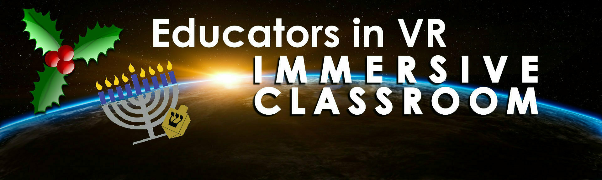 Educators in vr   immersive classroom holiday altspace banner