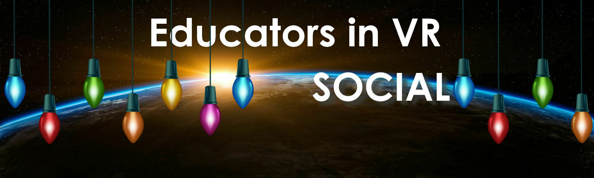 Educators in vr   educators in vr social   altspace banner holiday