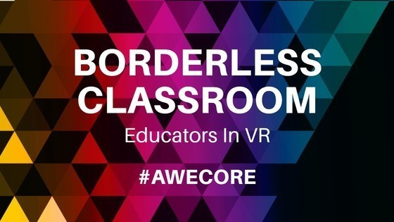 Tile educators in vr borderless classoom awecore awe2019