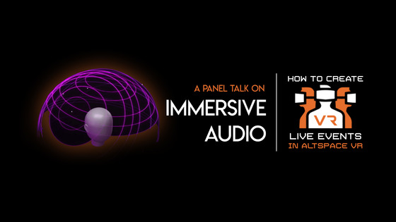 Tile immersive audio panel talk altspacevr title