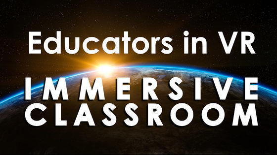 Tile educators in vr   immersive classroom altspace tile