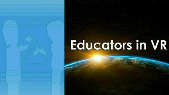 Tile convrsations   educators in vr title