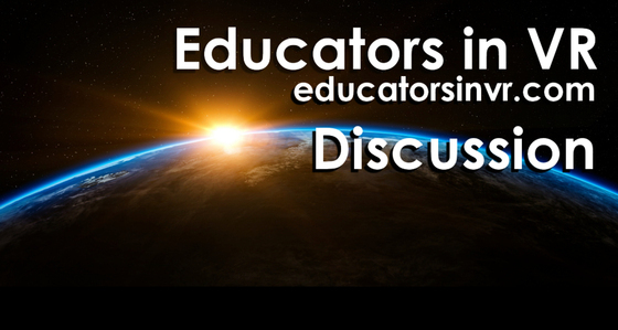 Tile educators in vr alltspace tile discussion