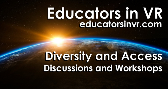 Tile educators in vr   diversity and access altspace tile