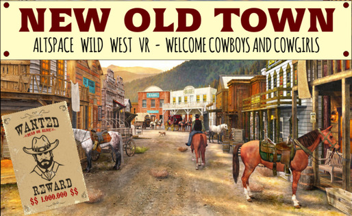 Tile old new town wild west chris