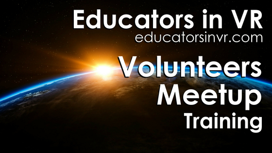 Tile educators in vr   volunteers training meetup   tile