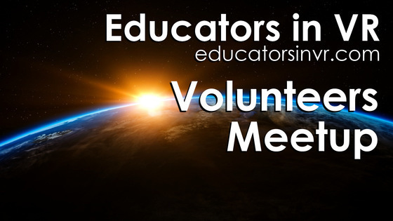 Tile educators in vr   volunteers meetup   tile