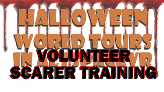 Tile halloween 2020 volunteer scarer asvr event title