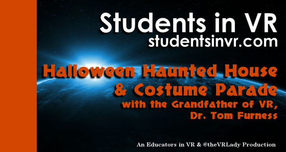 Tile d1031100frn30 students in vr asvr tile color band   halloween haunted house tom furness