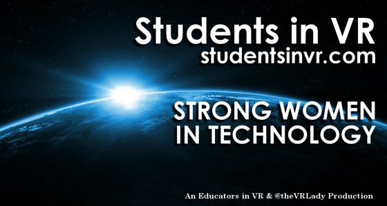 Tile students in vr   asvr title strong women in technology