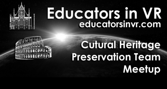 Tile educators in vr   cultural heritage preservation   event tile 2020