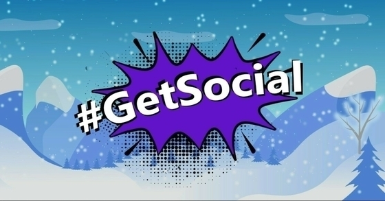Tile get social winter wonderland
