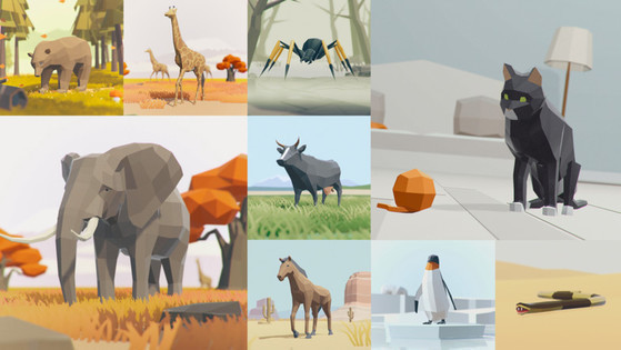 Tile animals